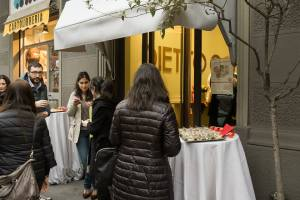 Food blogger all'aperitivo di inaugurazione