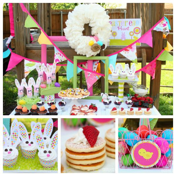 Easter Tea Party Cake