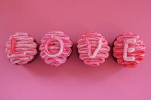 Cupcakes romantici