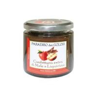 Confettura di mele e liquirizia Calagusto