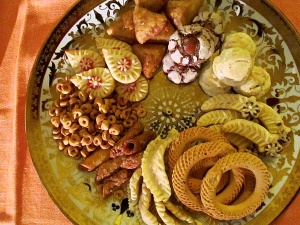 Selezione di dolci arabi