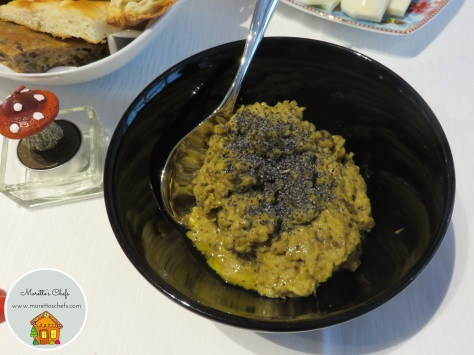 Hummus di cicerchie
