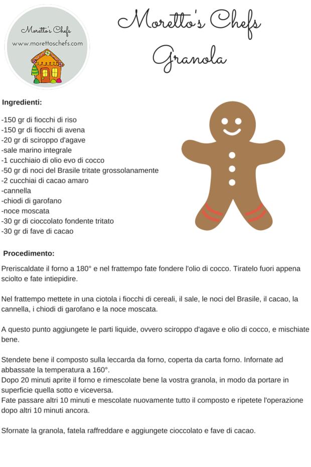 Granola - regalo Natale 2015