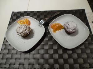 Morette al cacao e arancia