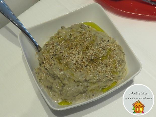 Babaganoush (salsa di melanzane)