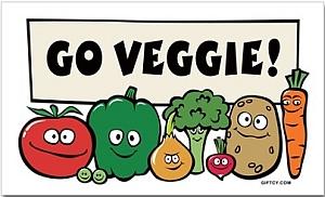 Go Veggie! - immagine presa dal web