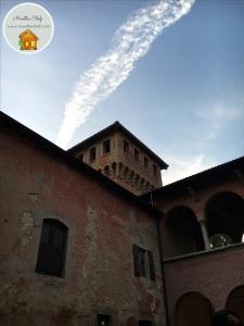 Il cielo su Villa Oppi