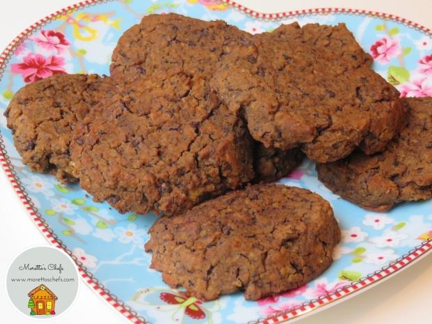 Biscotti al cioccolato e… ceci! - ricetta per Vivere per raccontarla