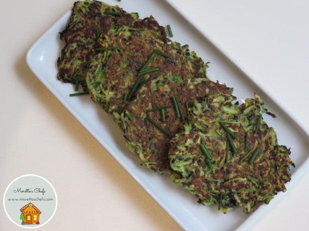 Frittelle di zucchine - ricetta per Wannabemum