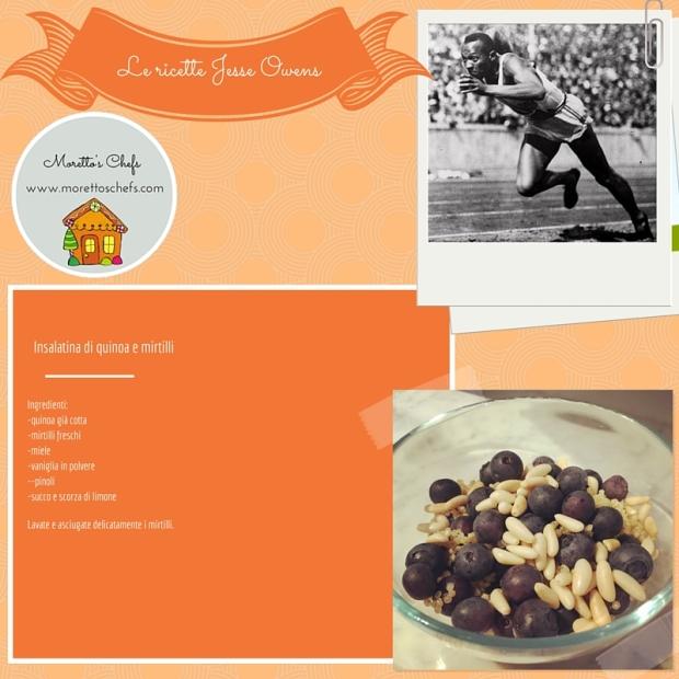 Insalatina quinoa e mirtilli