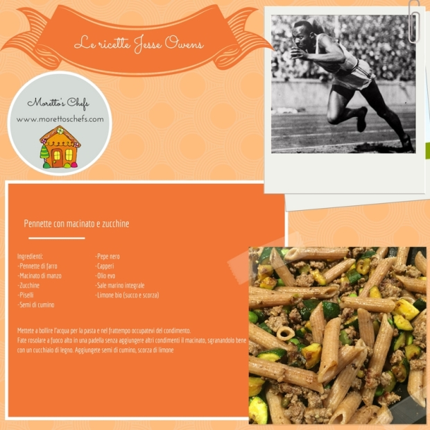 Pennette con macinato e zucchine