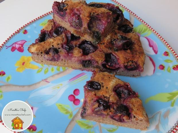 Focaccia all'uva - ricetta per Wannabemum