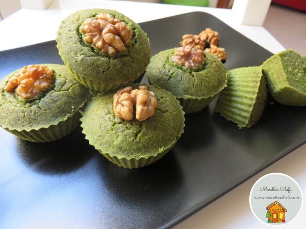 Muffin verdi con cervelli di topo