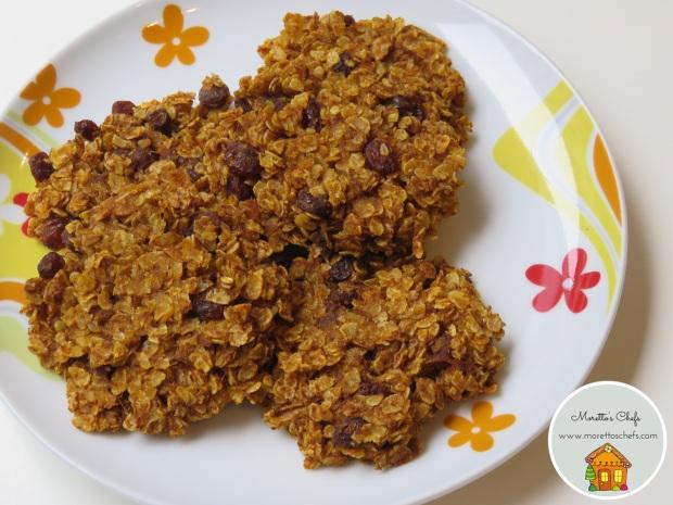 Biscotti alla zucca con due soli ingredienti - ricetta per Wannabemum