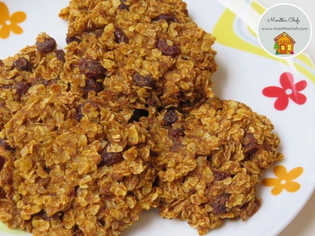 Biscotti alla zucca con due soli ingredienti - ricetta per Wannabemumv
