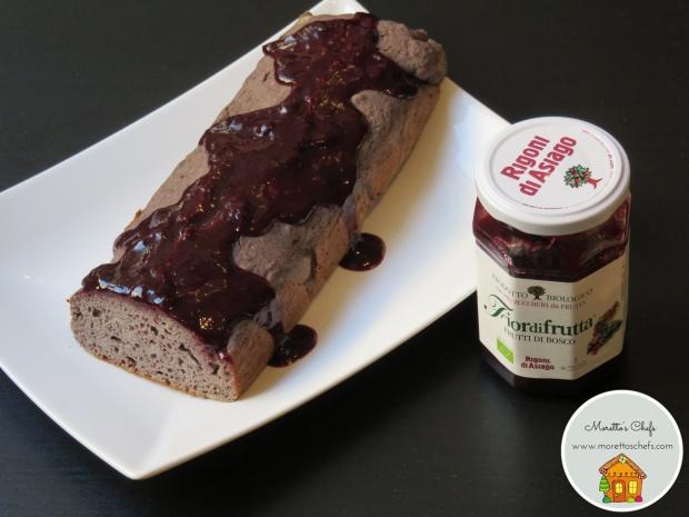 Plumcake ai frutti di bosco e zenzero con Fiordifrutta ai frutti di bosco Rigoni d'Asiago