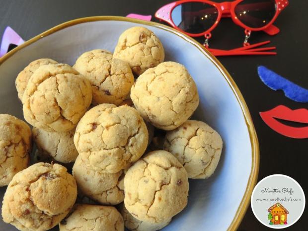 Dovevano essere castagno di Carnevale: biscottini di frolla senza glutine con uvetta