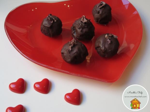 Tartufini di San Valentino - ricetta per Vivere per Raccontarla