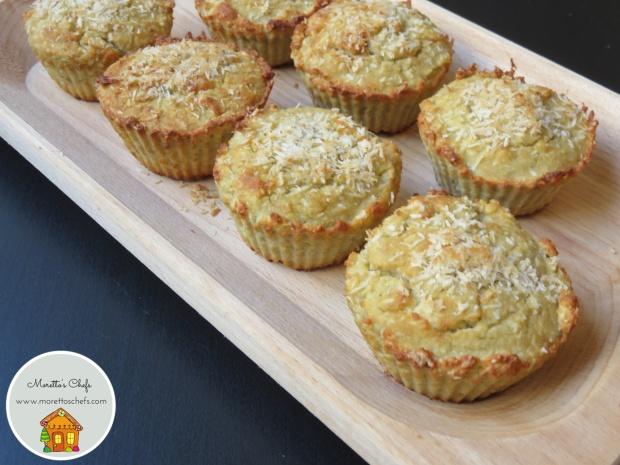 Muffin curry e cocco - ricetta per Vivere per raccontarla
