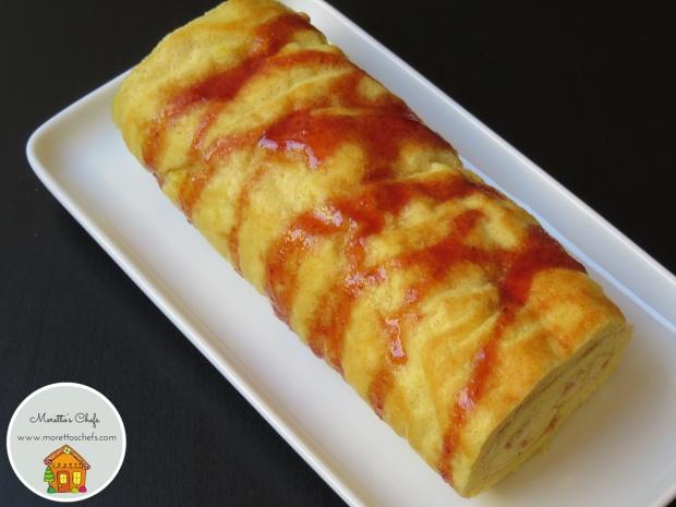 Rotolo mimosa - ricetta per Wannabemum