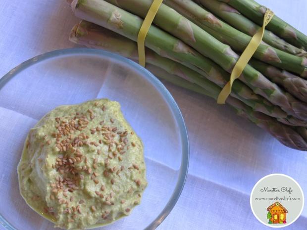 Pesto di asparagi e sesamo - ricetta per Vivere per raccontarla