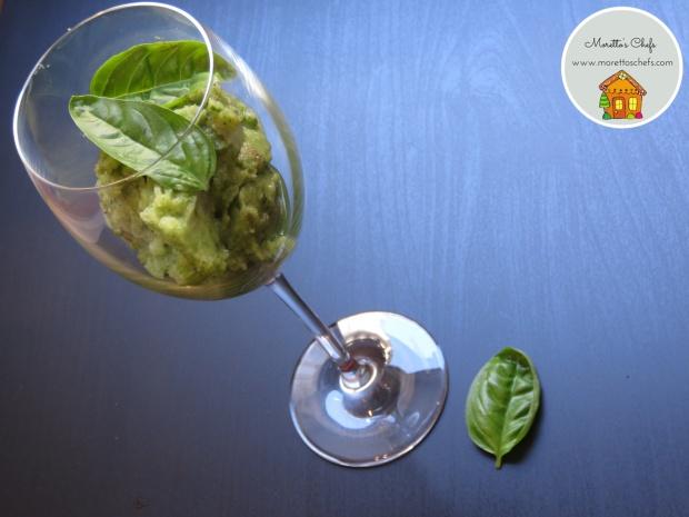 Sorbetto cetriolo e basilico - ricetta per Vivere per Raccontarla
