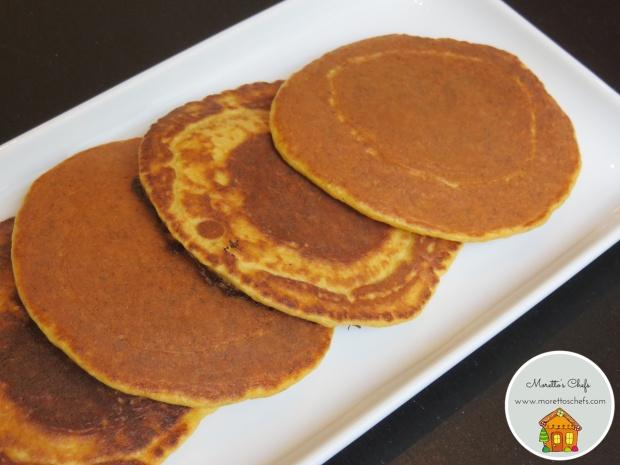 Pancake carote e zenzero