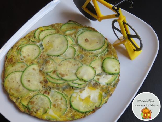 Frittata saporita con zucchine e salvia - #schiscettaperfetta