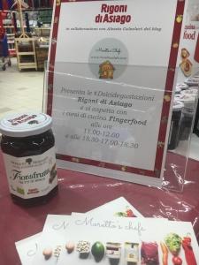 Finger food dolci e salati con le marmellate Rigoni di Asiago - edizione di Grugliasco