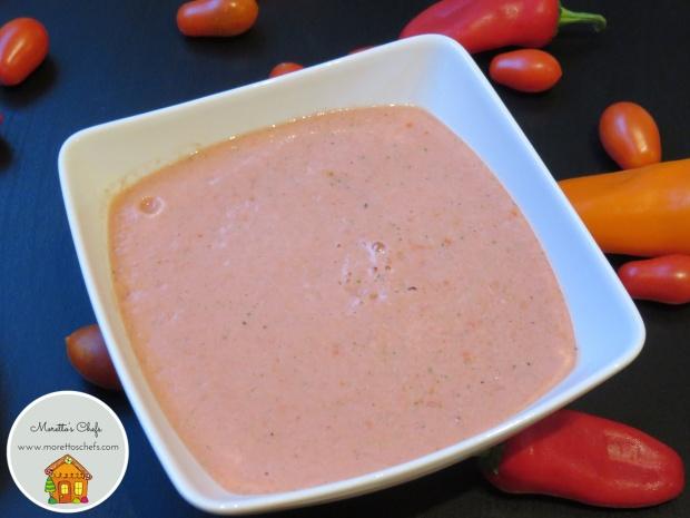 Gazpacho senza glutine - ricetta per Vivere per Raccontarla