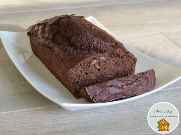 Banana bread senza glutine con crema di cacao e nocciole - ricetta per Il Circolo del Cibo Altromercato