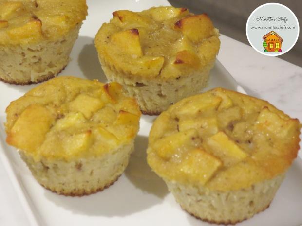 Muffin alle mele e fava tonka - ricetta per Vivere per Raccontarla