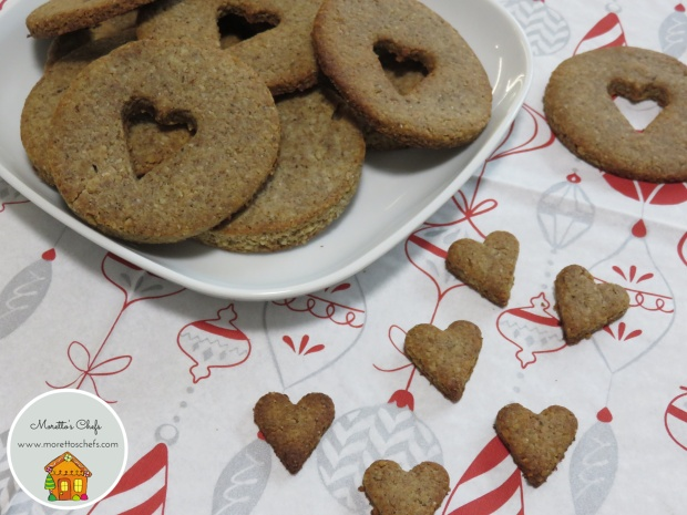 Biscotti di Natale di grano saraceno e noci - ricetta per Vivere per Raccontarla