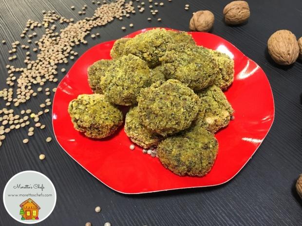 Polpettine di ceci e quinoa rossa - ricetta per Il Circolo del Cibo Altromercato