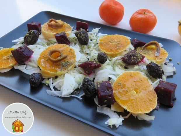 Insalata detox arancia e barbabietola - ricetta per Vivere per Raccontarla