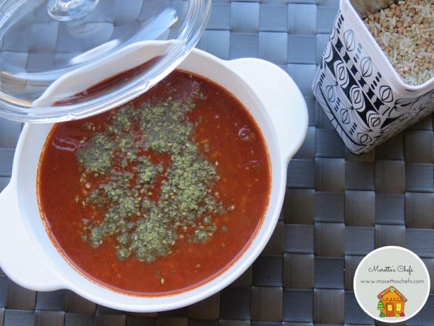 Zuppa di lenticchie con mix di riso, quinoa e grano saraceno al pomodoro e za'atar - Ricetta per Il Circolo del Cibo Altromercato