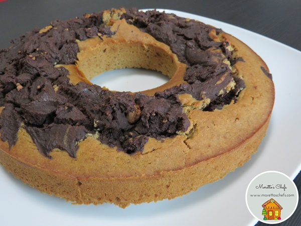 Ciambellone bicolore senza glutine e senza latticini - ricetta per il Circolo del Cibo Altromercato
