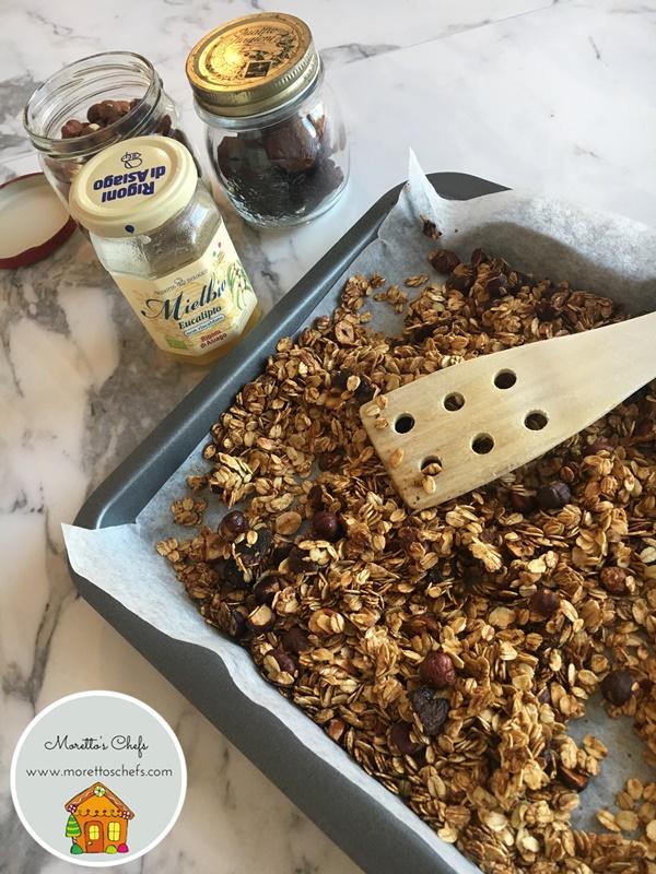 Ricetta granola senza zucchero